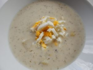 Kyselá koprová polévka