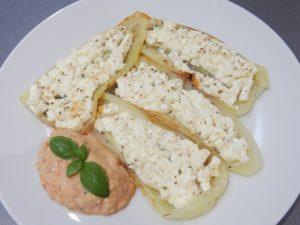 Papriky sbalkánským sýrem